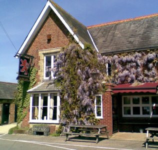 The Red Lion pub, Freshwater, Isle of Wight