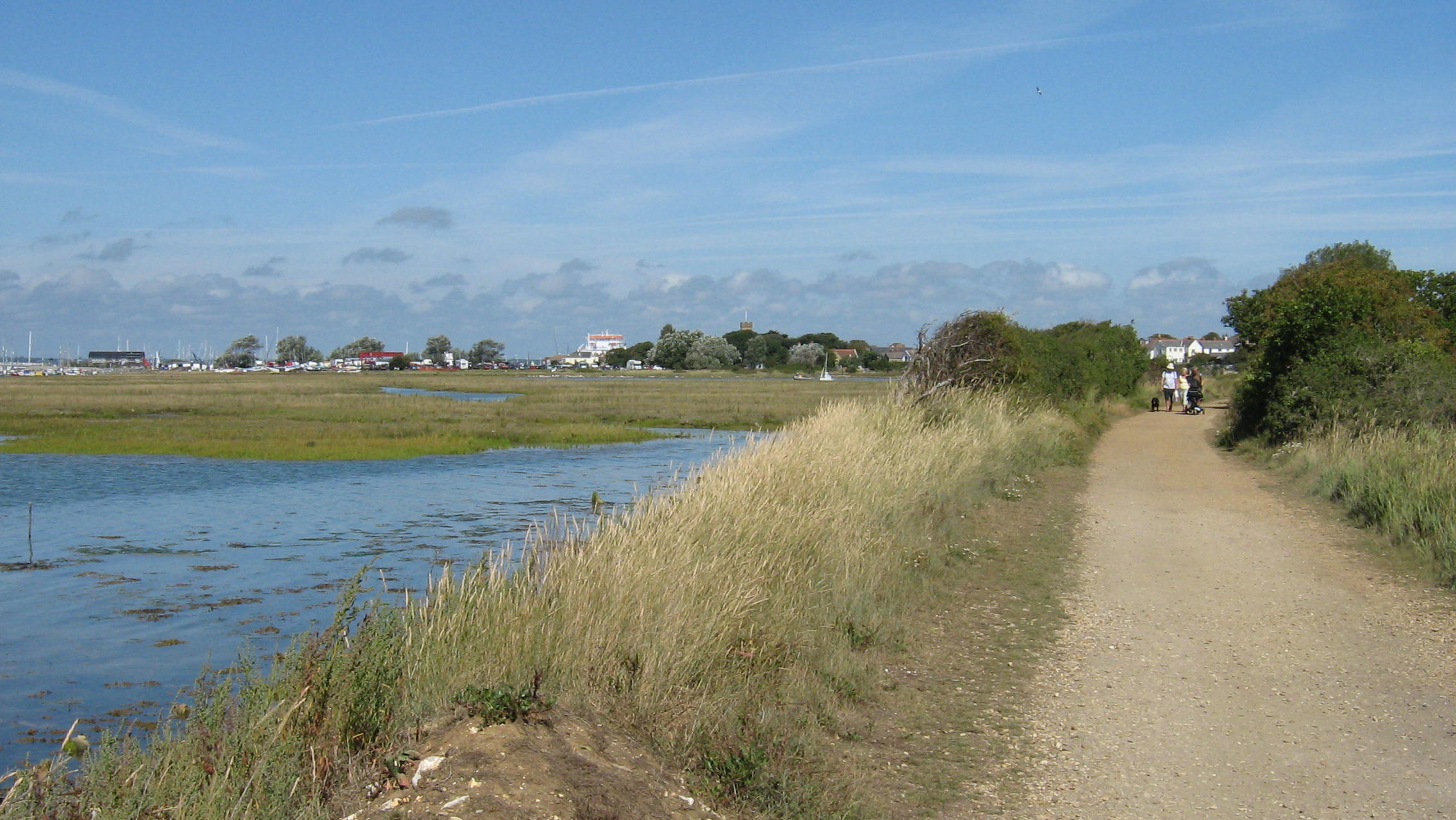 River Yar and Yarmouth