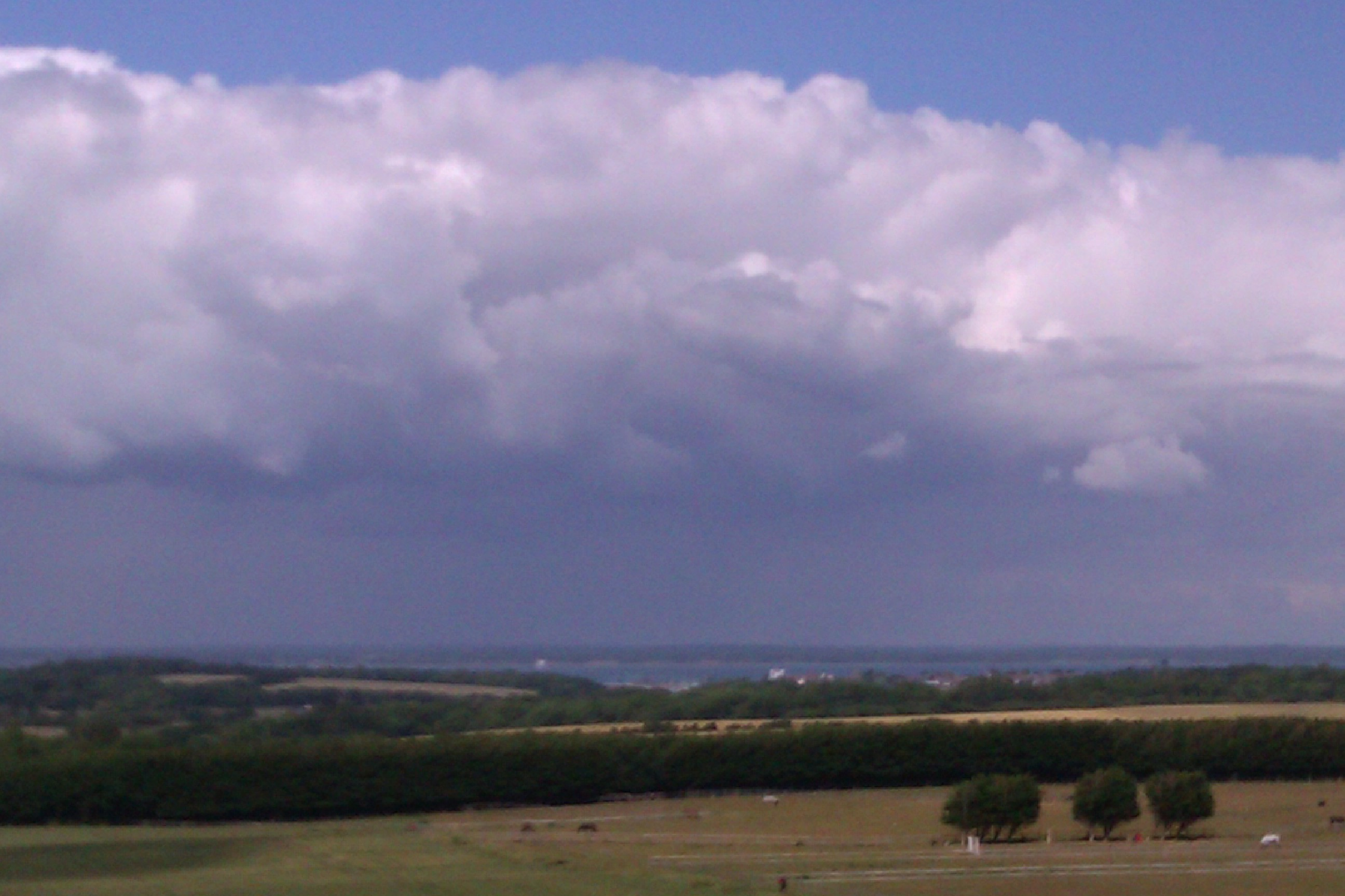 Rain Clouds over Hampshire
