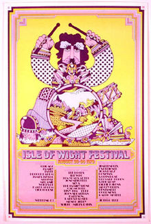 Pop Festival poster 1970