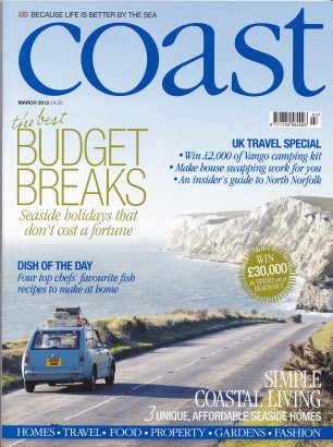 Coast magazine Isle of Wight front cover